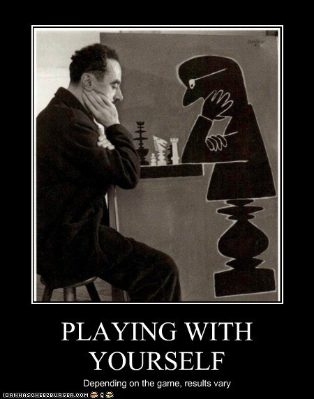 chess demotivational demotivator historic lols playing with yourself vintage - 5589992704