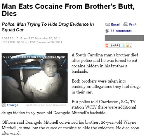 cocaine drugs innuendo Probably bad News wtf - 5590100224