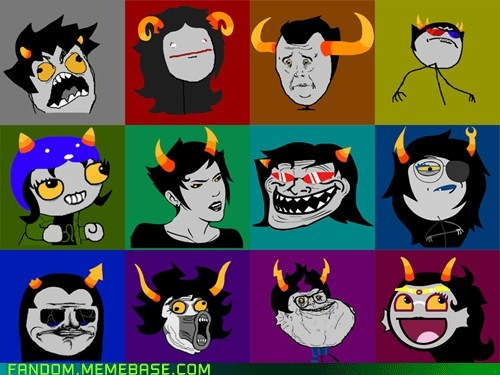 Fan Art homestuck Memes rage faces - 5590456832