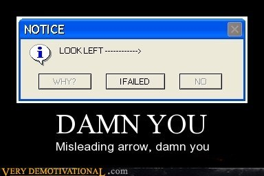 arrow damn hilarious misleading - 5590768640