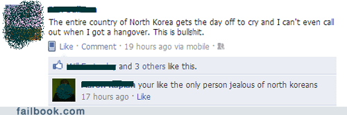 day off,ferris bueller,firstworldproblems,North Korea