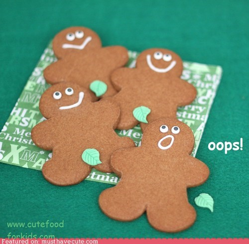 accident cookies epicute fig leaf gingerbread modest oops - 5590995968