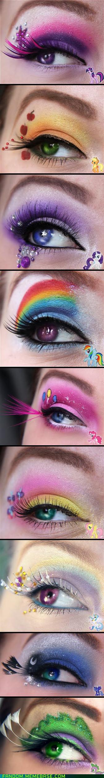 best of week Bronies cosplay makeup my little pony - 5591144704