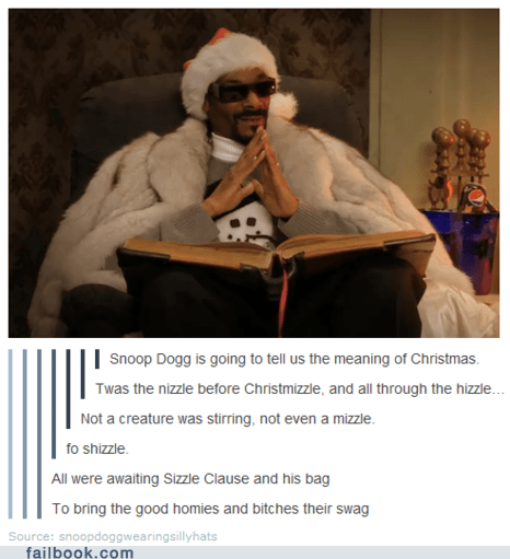christmas,Featured Fail,poetry,snoop dogg,tumblr,win