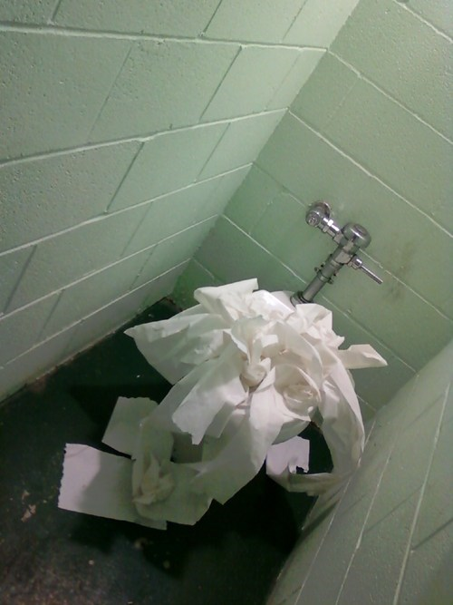 clogged i hate you toilet paper toilets - 5591343104