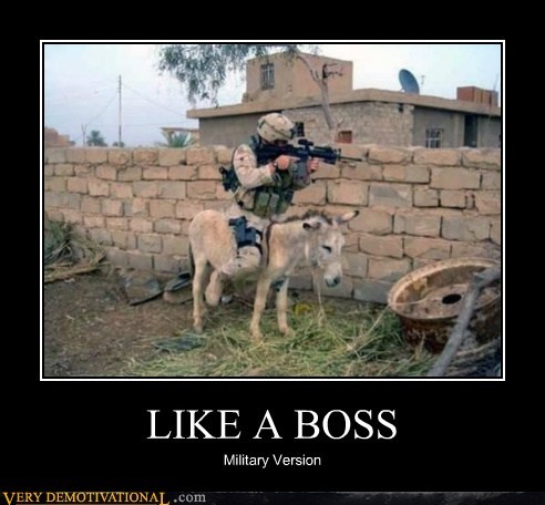 LIKE A BOSS Military Version