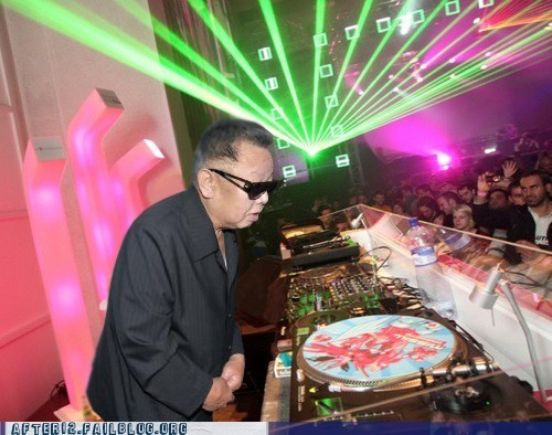 club daft punk dj dubstep Hall of Fame In Memoriam Kim Jong-Il North Korea rip skrillex - 5591809792