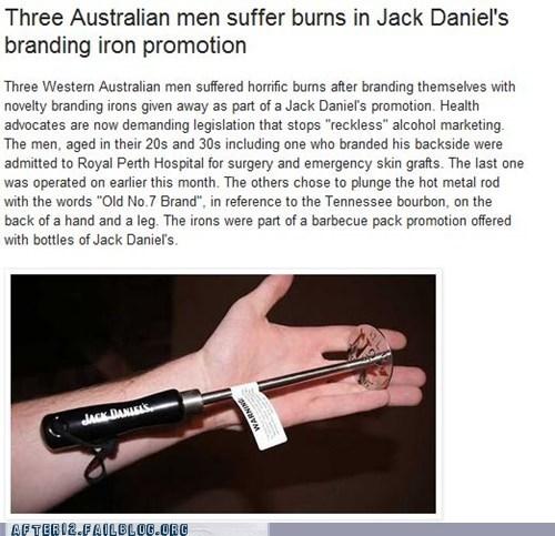 booze booze news burn jack daniels marketing whisky - 5591910144