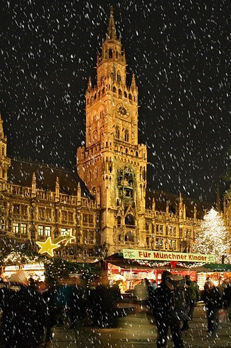 christmas Germany getaways Hall of Fame merry christmas snow snowing winter - 5592114432