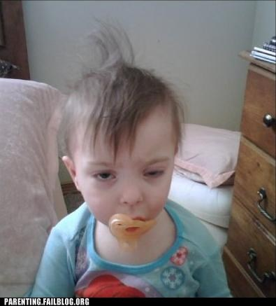 baby,derp,drunk,hangover,morning after,Parenting Fail