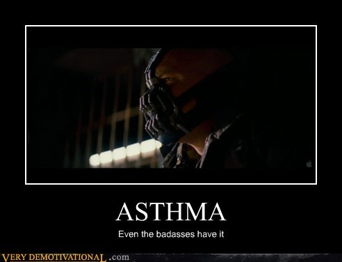 asthma,bane,batman,hilarious,Movie