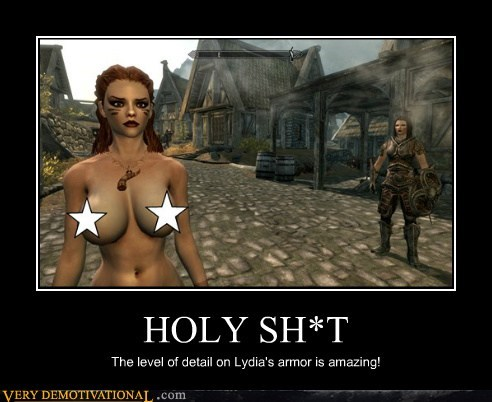 bewbs hilarious Sexy Ladies Skyrim video games - 5593196032