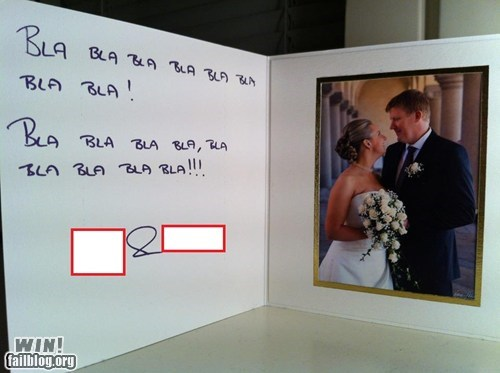 cards,funny,funny wedding photos,wedding thank you