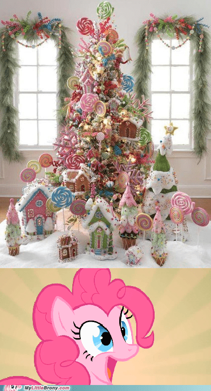 awesome candy christmas gingerbread house IRL pinkie pie - 5594182912
