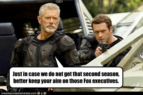 aim cancelled commander taylor executives fox jason-omara jim shannon Stephen Lang terra nova - 5594240000