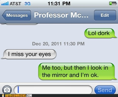 dork eyes forever alone mirror miss missing you - 5594416896