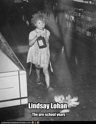 Lindsay Lohan The pre-school years
