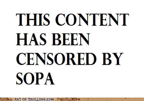 censorship internet SOPA - 5594592256