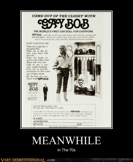 70s bob doll gay Pure Awesome wtf - 5594665472