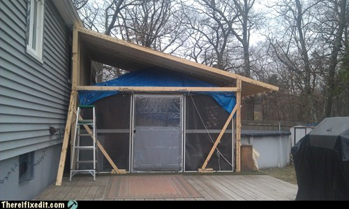 fort holding it up home improvement tarp - 5595065600