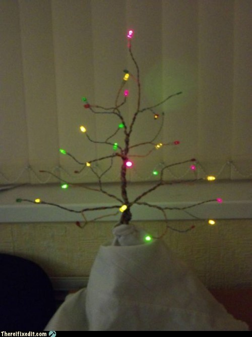 christmas christmas tree DIY g rated LED lights there I fixed it - 5595121408