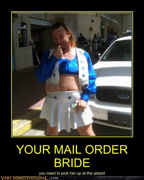 airport cross dressing hilarious mail order bride - 5595369728