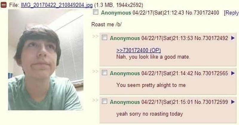 Wholesome 4chan moments.