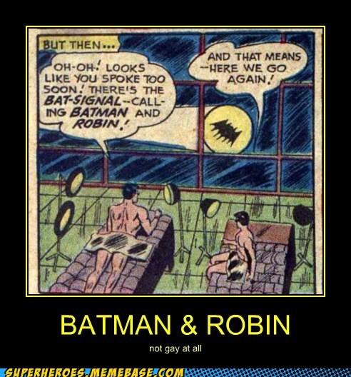 batman not gay robin Super-Lols tanning wtf - 5595445760