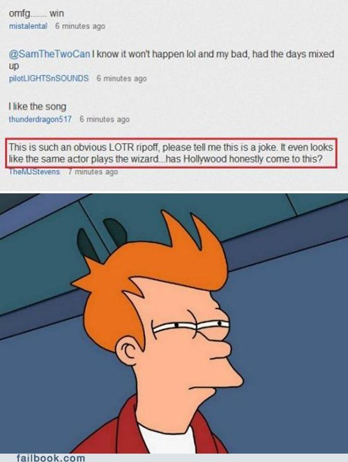 comments Movie not sure if trolling The Hobbit trailers trololo youtube - 5595463680