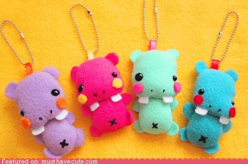Babies,fleece,hippos,keychains,Plush,soft