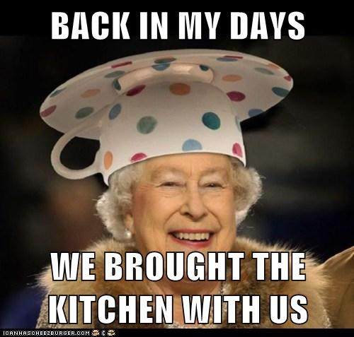 kitchen,political pictures,Queen Elizabeth II