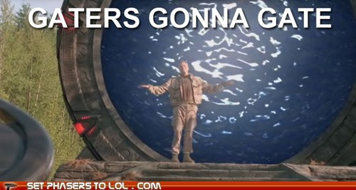 Gaters gonna gate!