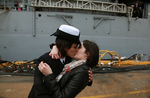 Citlalic Snell Historical Homecoming Kis LGBT rights Marissa Gaeta RIP DADT - 5595762432