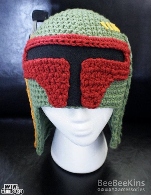 boba fett crochet knit nerdgasm star wars - 5595802880