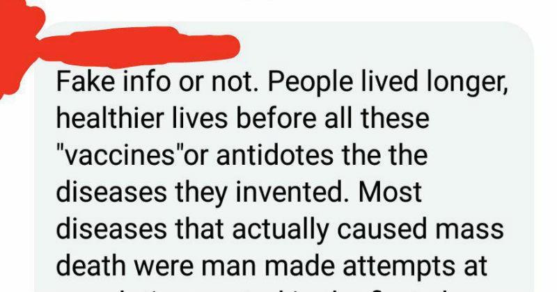 medicine cringe facebook anti-vaxxers ridiculous - 5595909