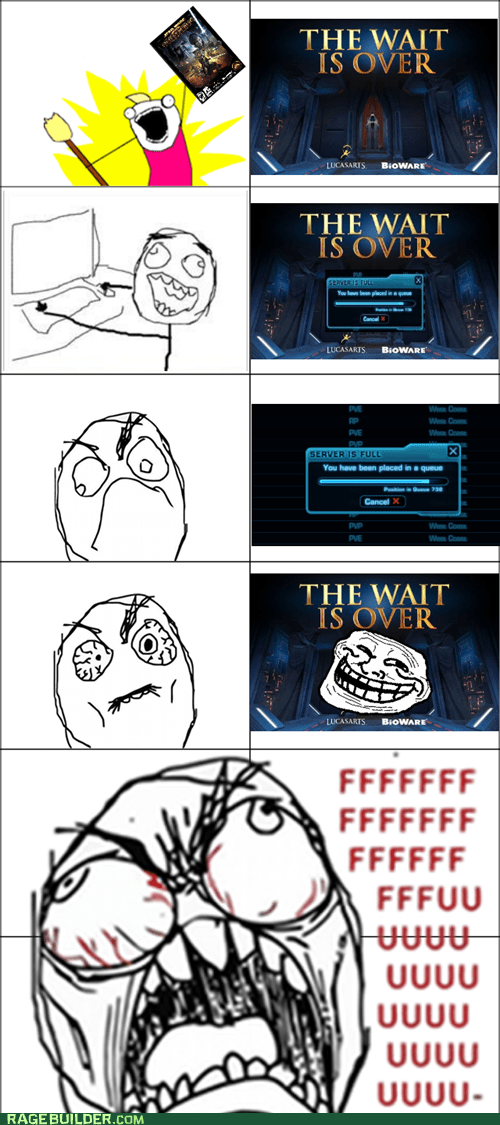 all the guy,Rage Comics,star wars,swtor,video games