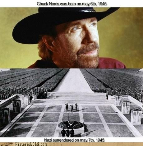 chuck norris funny history nazi - 5595942912