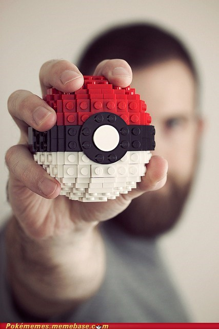 art craft IRL lego poke-ball-be-the-very-best - 5595981056