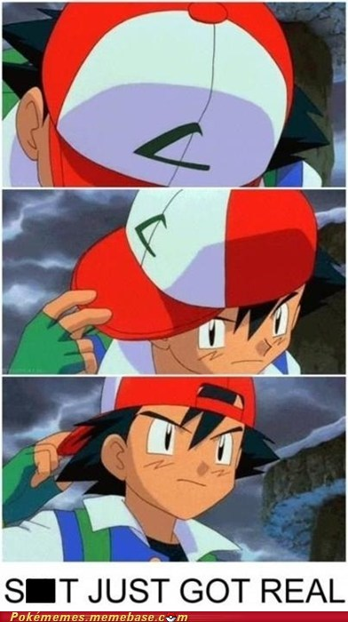 ash best of week just got real pikachu Pokémemes turned his hat tv-movies - 5596063744