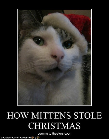 HOW MITTENS STOLE CHRISTMAS