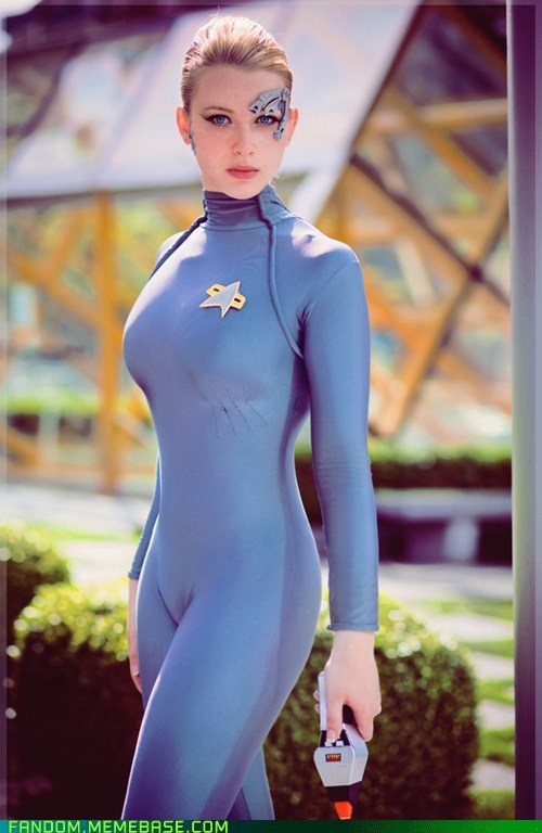 cosplay seven of nine Star Trek voyager - 5596171520