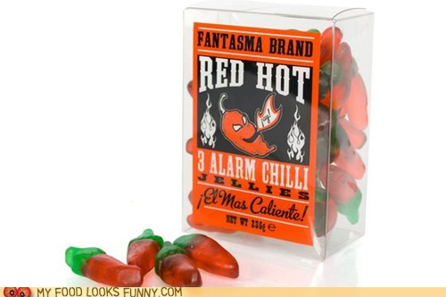 chilis gummy hot jelly spicy - 5596201984
