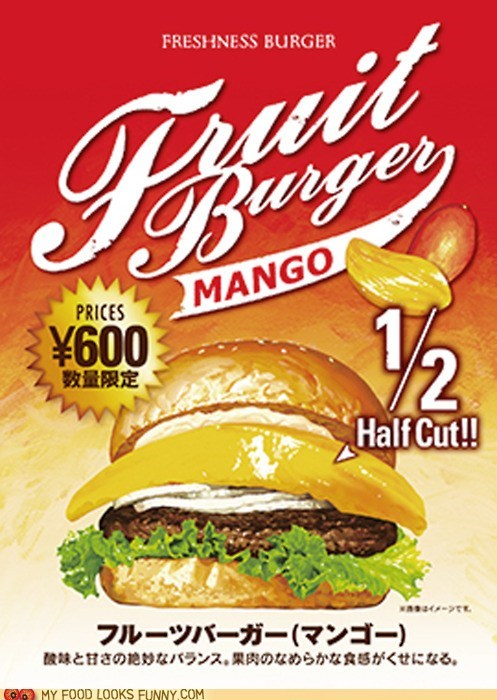burger,chain,freshness burger,fruit,Japan,mango