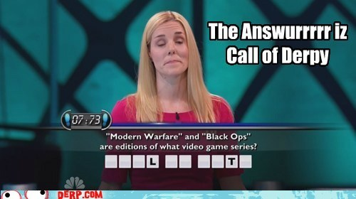 call of duty Movies and Telederp quiz show TV
