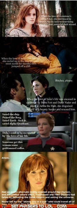 bella swan best of the week captain janeway doctor who donna noble Harry Potter hermione love Princess Leia Star Trek star wars twilight - 5596268800