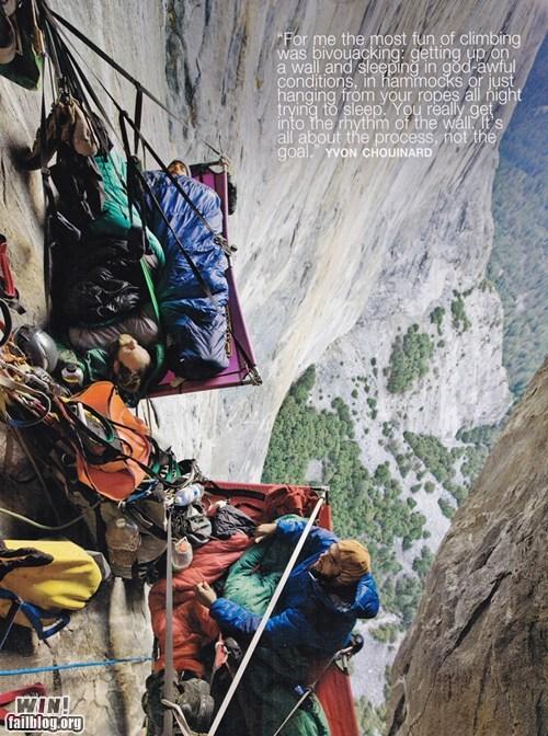 bivouacking camping climbing extreme Hiking mountain climbing vertigo - 5596321536