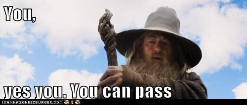 gandalf ian mckellen The Hobbit yes you you shall not pass