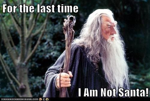 gandalf ian mckellan last santa The Hobbit wizard - 5596389888