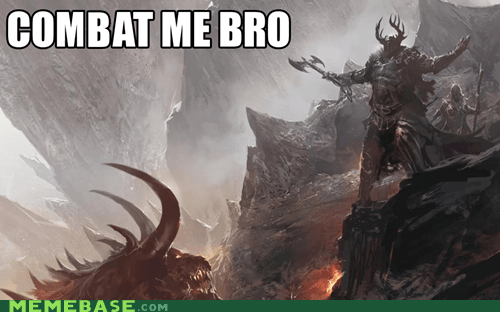 charr combat come at me bro guild wars guild wars 2 Memes norn video games - 5596410624