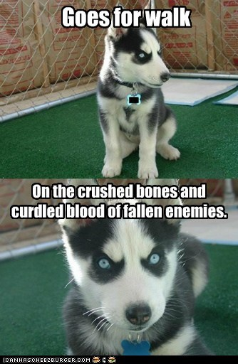 insanity pup